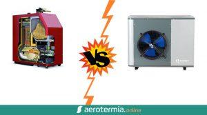 biomasa o aerotermia